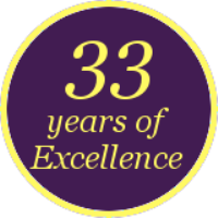33 years of excellence